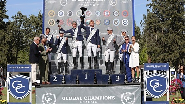 Beerbaum and Kutscher Star in Madrid GCL Showdown