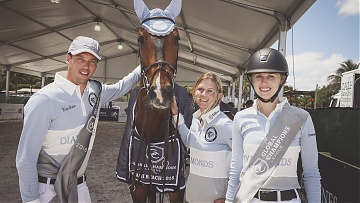 World's top riders hail debut Global Champions League
