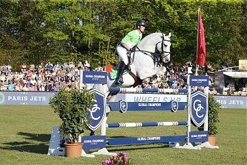 GCL of Hamburg - Paris Jets - Olivier Philippaerts on H&M Cabrio van de Heffinck