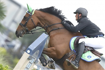 GCL of Chantilly - Paris Jets - Olivier Philippaerts on H&M Henna de Goedereede