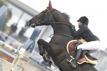 GCL of Chantilly - Shanghai Swans - Edwina Tops-Alexander on Ego van Orti