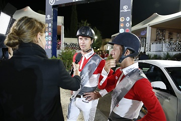 GCL of Cannes - Leopold van Asten and Maikel van der Vleuten of Monaco Aces