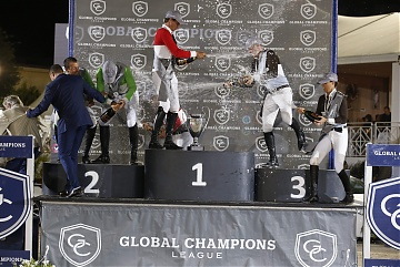 GCL of Cannes -Champagne celebration