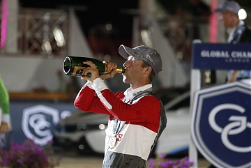 GCL of Cannes - Maikel van der Vleuten celebrates the victory