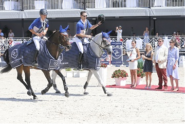 GCL of Monaco - Valkenswaard United parade during the lap of honor after winning GCL of Monaco