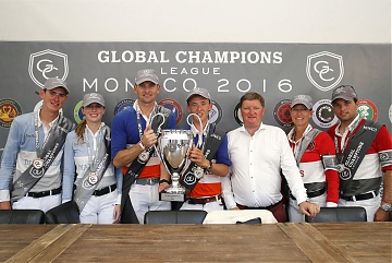 GCL of Monaco - Group photo after the Press conference