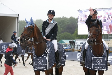 GCL of Paris - Team Antwerp Diamonds - Audrey Coulter on Alex and Harrie Smolders on Capital Colnardo