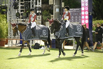 Team Shanghai Swans - Edwina Tops-Alexander and Alexandra Thornton