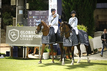 Team Antwerp Diamonds - Marc Houtzager and Khatarina Offel