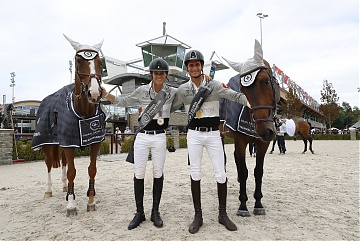 GCL of Valkenswaard - Team Madrid in Motion winner of GCL of Valkenswaard  - Pedro Veniss and Alberto Zorzi