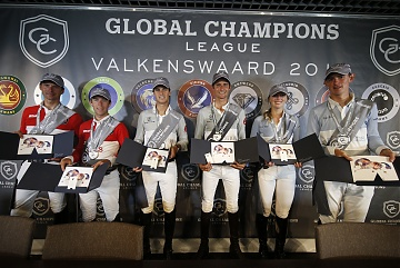 GCL of Valkenswaard - Press conference - Team Monaco Aces, Team Madrid in Motion, Jan Tops and Team Antwerp Diamonds