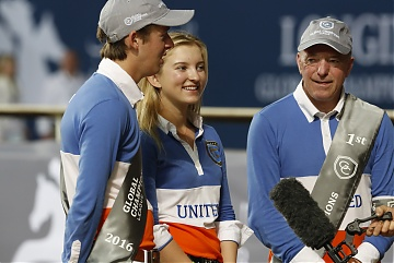 GCL of Doha - Bertram Allen, Emily Moffitt and John Whitaker