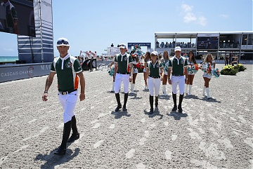 Team Miami Celtics: Jessica Springsteen, Denis Lynch, Shane Been and Michael Duffy
