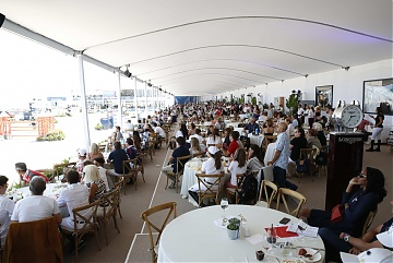 Packed VIP Lounge during GCL Miami Beach