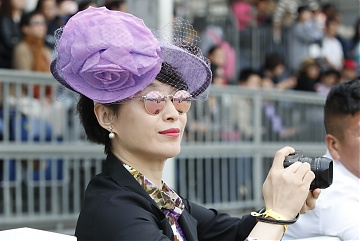 Fashion hats at GCL of Shanghai