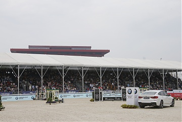 Full grandstand for today's Round 2 of GCL Shanghai