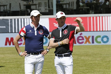 Ben Maher (GBR) and Scott Brash (GBR)