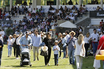 Lots of families joined Club de Campo Villa de Madrid for the LGCT Grand Prix