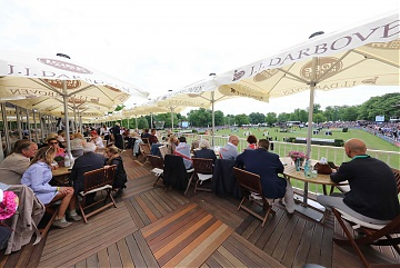 Fully packed VIP Lounge for the 2nd Round of GCL Hamburg