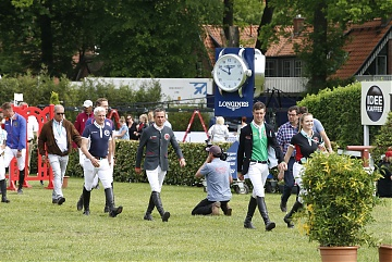 Course walking of the 2nd Round of GCL Hamburg