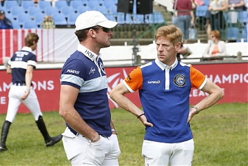 Team Berlin Eagles - Philipp Weishaupt (GER) and Team Valkenswaard United' Marcus Ehning (GER)
