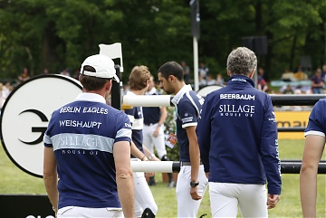 Team Berlin Eagles -  Ludger Beerbaum (GER) and Philipp Weishaupt (GER)