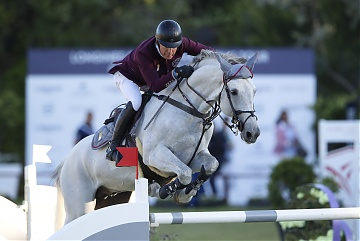 Team Doha Fursan Qatar - Michael Whitaker (GBR) on Cassionato