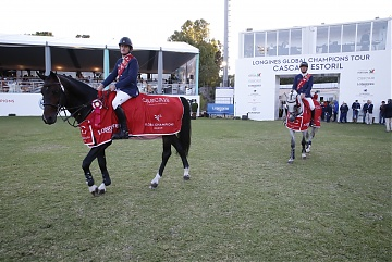 Darragh Kenny and Gregory Wathelet of Team Paris Panthers are the winner of the GCL leg of Cascais-Estoril