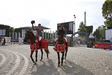 Team Montreal Diamonds duo of Harrie Smolders and Jos Verlooy triumphs at GCL Paris Eiffel