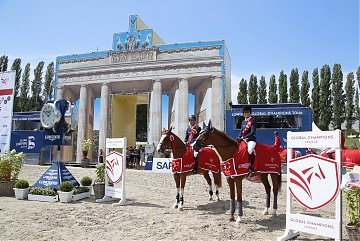 Team St Tropez Pirates duo of Edwina Tops-Alexander and Pieter Devos wins GCL of Berlin