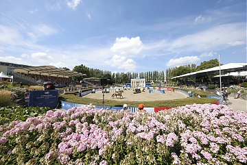 A view of the arena during Round 2 of GCL Berlin