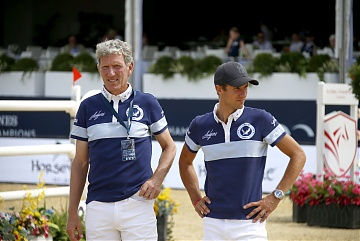 Team Berlin Eagles - Ludger Beerbaum (GER) and Christian Kukuk (GER)
