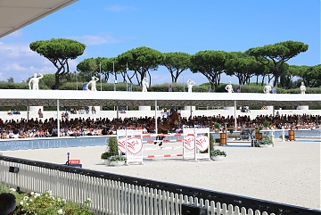 Full house for the 2nd round of GCL Rome