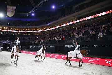 Standing ovation for Team Madrid in Motion  winners of 2018 GCL Super Cup