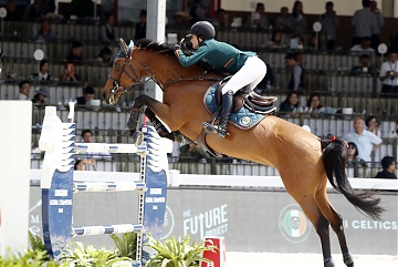 Team Miami Celtics - Jessica Springsteen (USA) on RMF Zecilie
