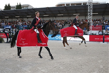 Team Madrid in Motion winner of GCL of Cannes - Maikel van der Vleuten and Eric van der Vleuten