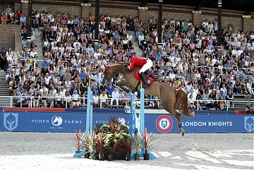 Team London Knights - Ben Maher (GBR) on Concona
