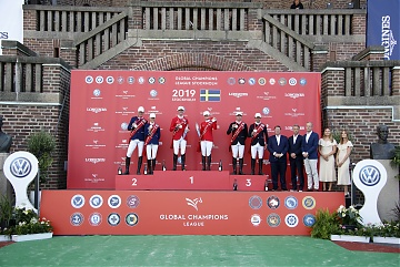 The Podium of GCL of Stockholm