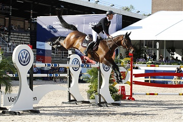 Team New York Empire - Scott Brash (GBR) on Hello Mr President