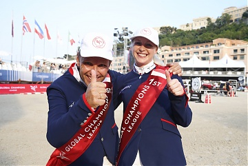 Team Scandinavian Vikings - Geir Gulliksen (NOR) and Evelina Tovek (SWE)
