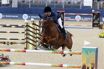 Team St Tropez Pirates - Edwina Tops-Alexander (AUS) on Casquel