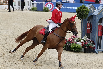 Team London Knights - Ben Maher (GBR) on Explosion W