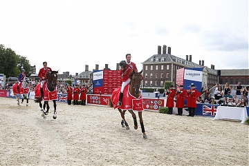 Team London Knights - Ben Maher and Olivier Philippaerts