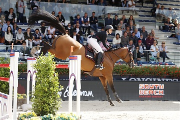 Team New York Empire - Georgina Bloomberg (USA) on Quibelle