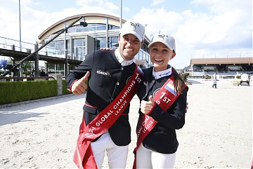 Team New York Empire - Georgina Bloomberg and Daniel Bluman