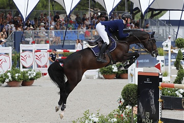Team Cannes Stars - Maurice Tebberl (GER) on Don Diarado