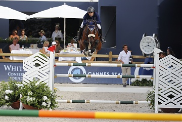 Team Cannes Stars - Abdel Said (EGY) on Jumpy van de Hermitage
