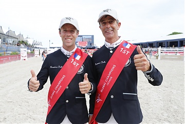 Maikel Van Der Vleuten (NED) and Eric Van Der Vleuten (NED) of Team Madrid in Motion wins GCL Ramatuelle/St Tropez