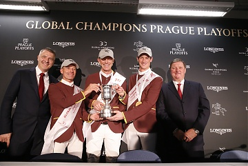 Team Shanghai Swans wins GCL Super Cup Final