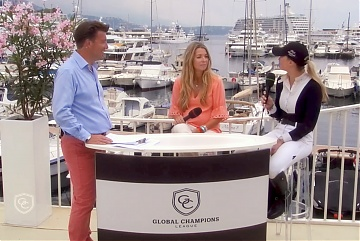 In the Studio GCL Monaco: Edwina Tops-Alexander and Paris Sellon